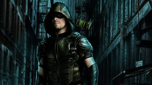 Green Arrow rolünde Stephen Amell