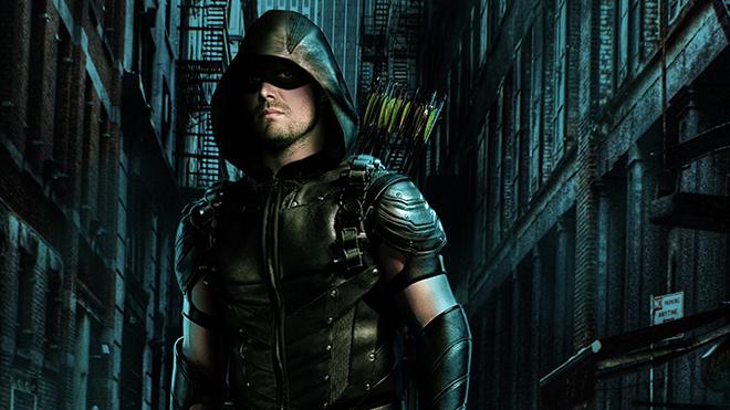 Green Arrow rolünde Stephen Amell