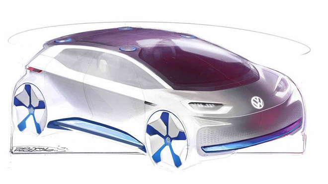 vw-electric-car