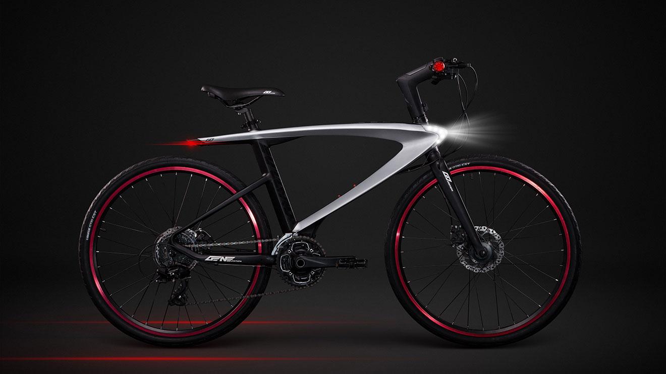 """Dünyanın ilk Android'li """"süper bisikleti"""""""