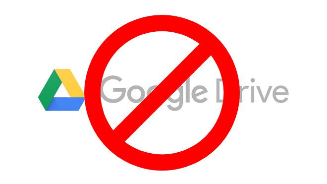 google-drive-yasak