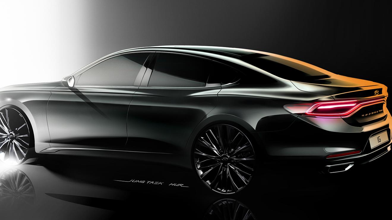 Hyundai'de BMW esintisi: 2018 Azera - LOG
