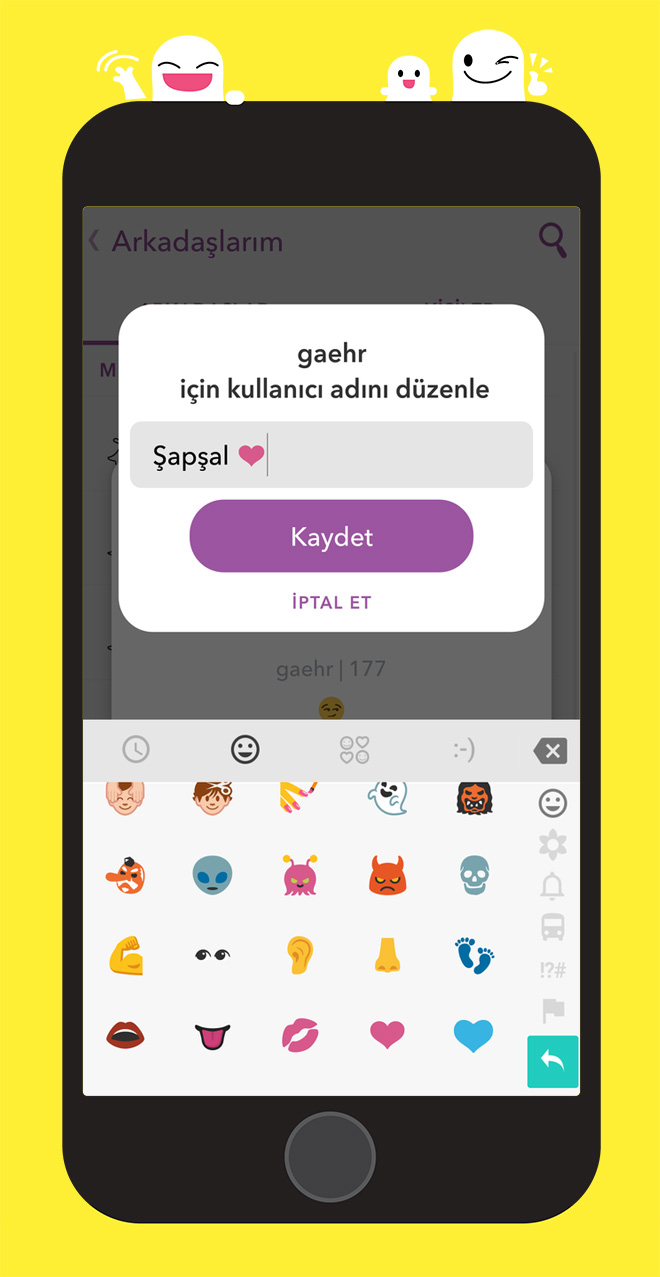 snapchat-arkadas-kaydet
