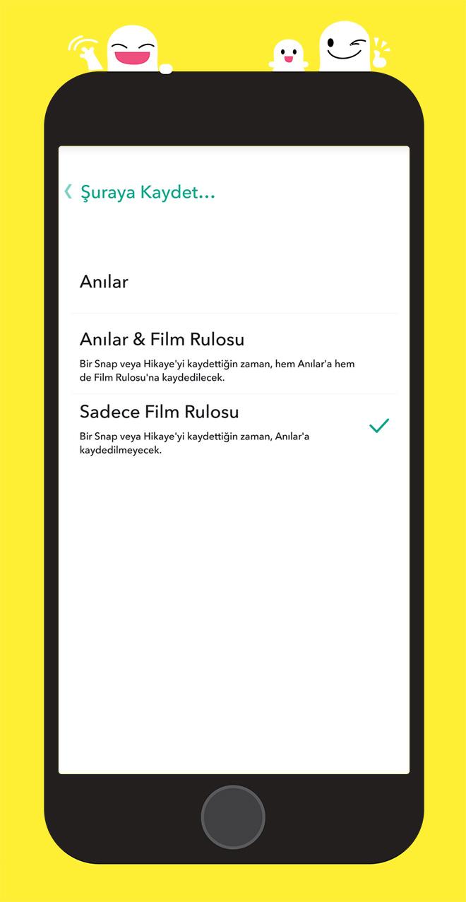 snapchat-galeriye-kaydet