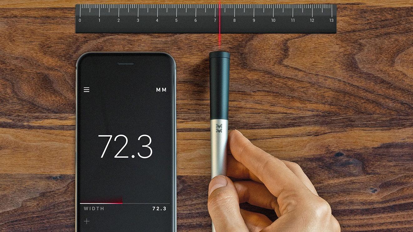 """Dünyanın ilk akıllı telefon uyumlu """"boyutlama"""" cihazı"""