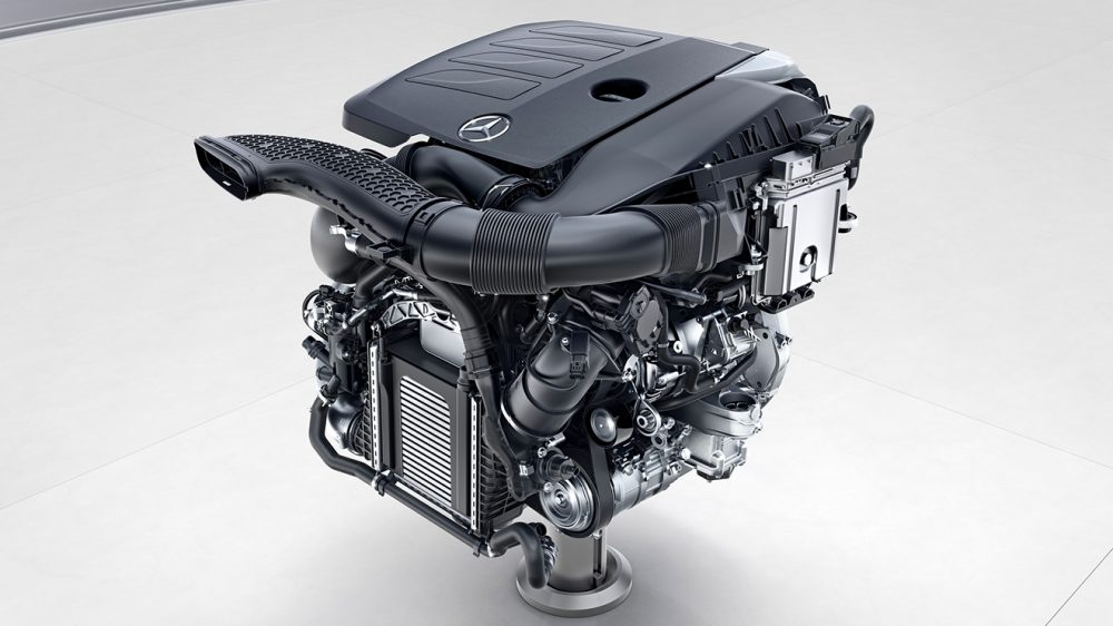 Mercedes'in geleceğini şekillendirecek yeni nesil motor ...