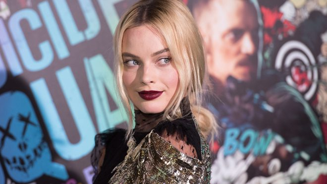 """NEW YORK, NY - AUGUST 01:  Actress Margot Robbie attends the world premiere of """"Suicide Squad"""" at The Beacon Theatre on August 1, 2016 in New York City.  (Photo by Noam Galai/Getty Images)"""