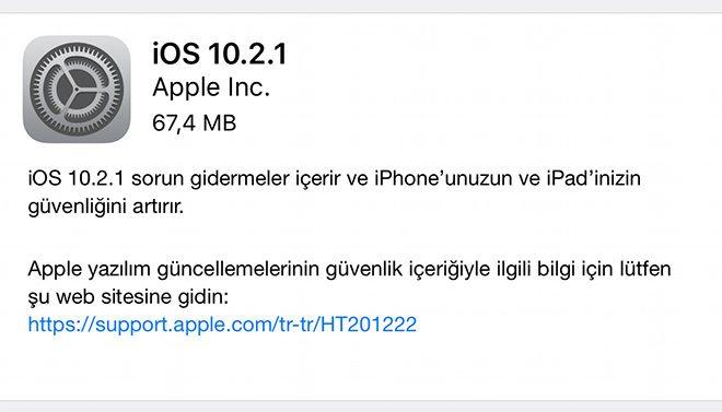 iOS 10.2.1