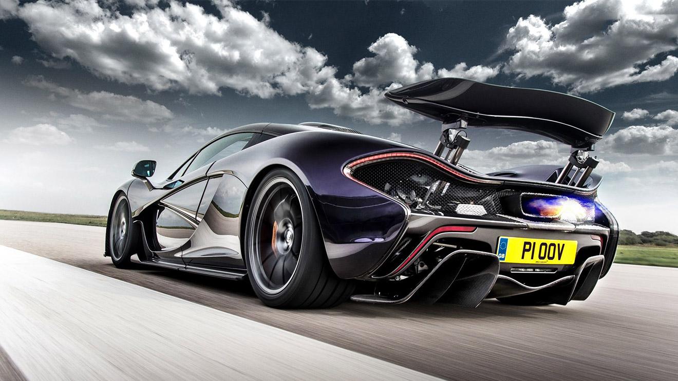 McLaren P1 загрузить
