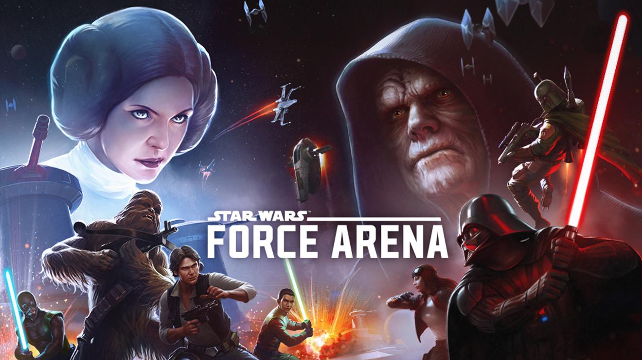 Star Wars: Force Arena, iOS ve Android için ücretsiz yayında