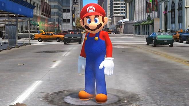 Mario GTA dünyasına adım atarsa ne olur? [Video]