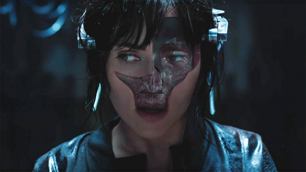 Scarlett Johansson Lı Ghost In The Shell Den Yeni