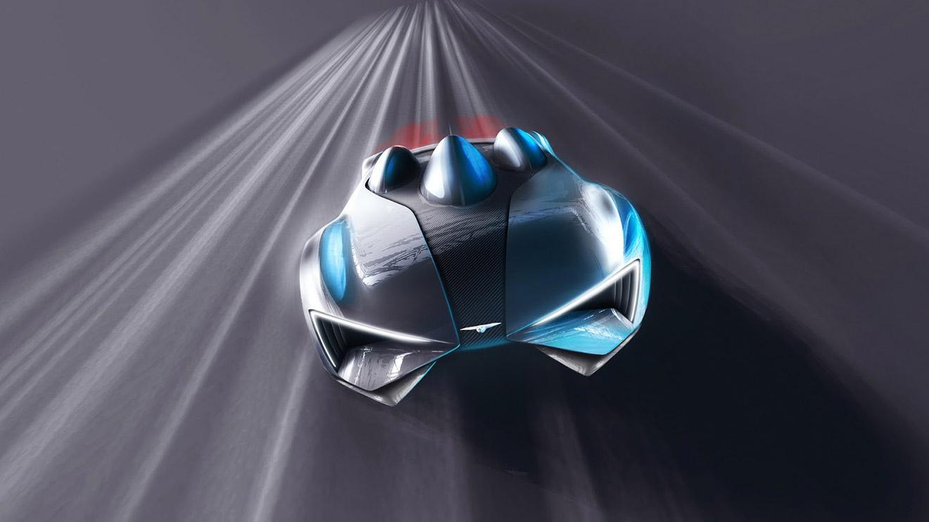 2000 kilometrelik menzil değeri vadeden Techrules, süper otomobiliyle ortalığı karıştıracak