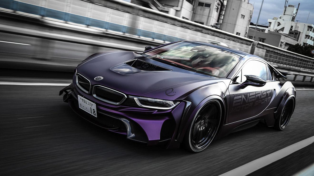 """Batman'in yeni """"otomobiliyle"""" tanışın: BMW i8 Evo Dark ..."""