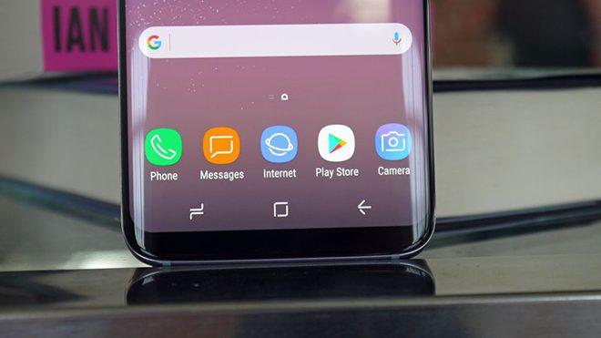 Samsung Galaxy S8'in ana ekran tuşu neden hareket ediyor?