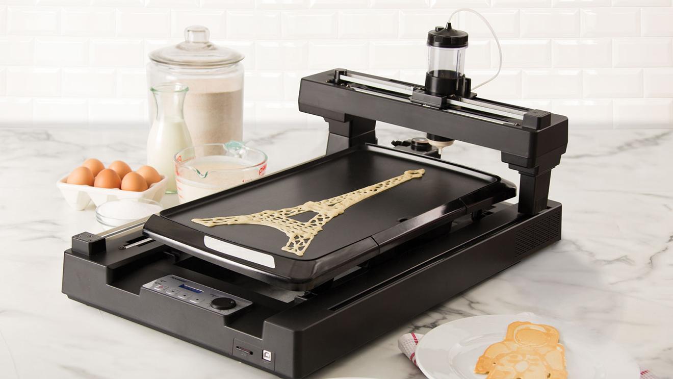 """Dünyanın ilk """"krep yazıcısı"""": PancakeBot"""