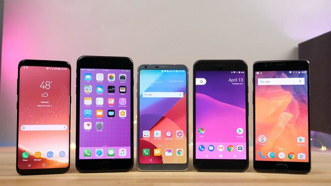 Samsung Galaxy S8, iPhone 7 Plus, Google Pixel ve OnePlus 3T hız testinde karşı karşıya [Video]