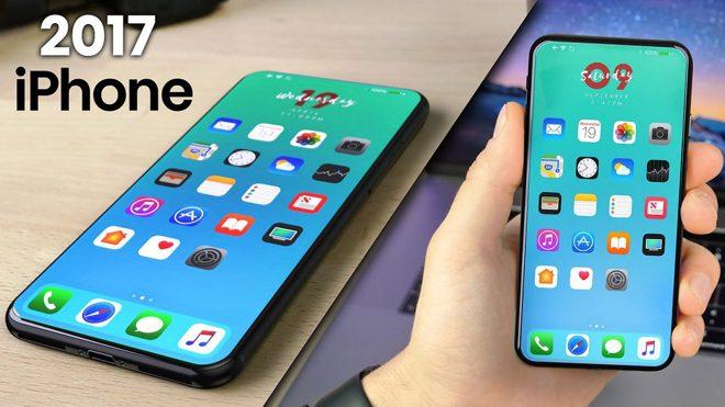 Dikey çift arka kameralı iPhone 8 konsepti [Video]