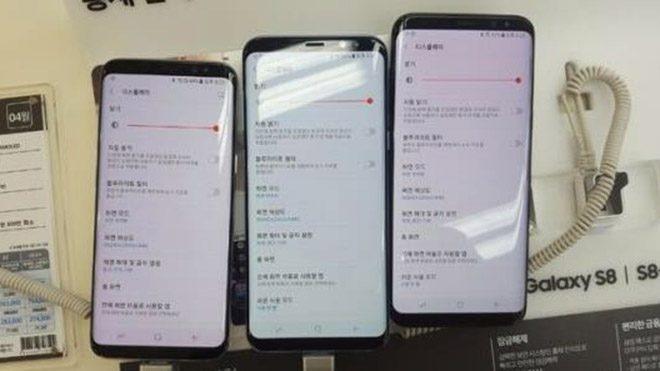 Samsung Galaxy S8'de 'kırmızı ekran' sorunu iddiaları
