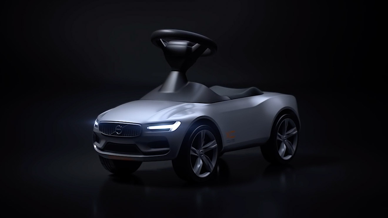volvo tarihinin en k k coupe modeliyle tan n rider concept xc coupe video log. Black Bedroom Furniture Sets. Home Design Ideas