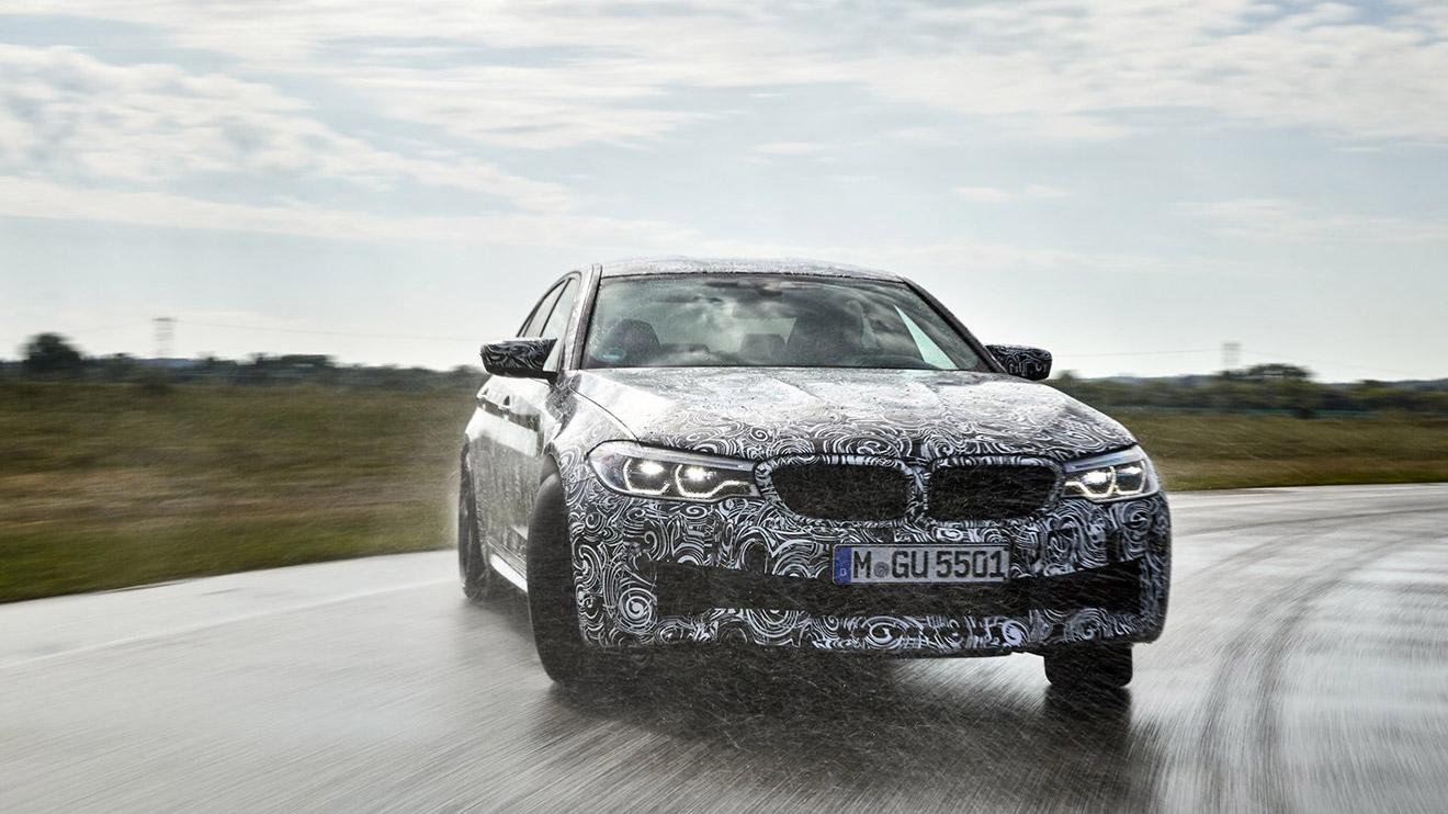 Dört tekerlekten çekiş altyapısıyla gelecek yeni BMW M5'ten ilk resmi bilgiler