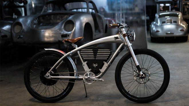 Tasarımını Porsche Efsanesi 356 Dan Alan Elektrikli