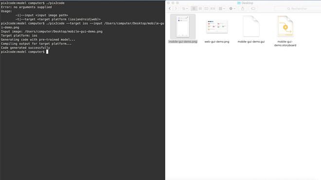 Ekran görüntüsündeki tasarımı kaynak koduna dönüştüren yapay zeka