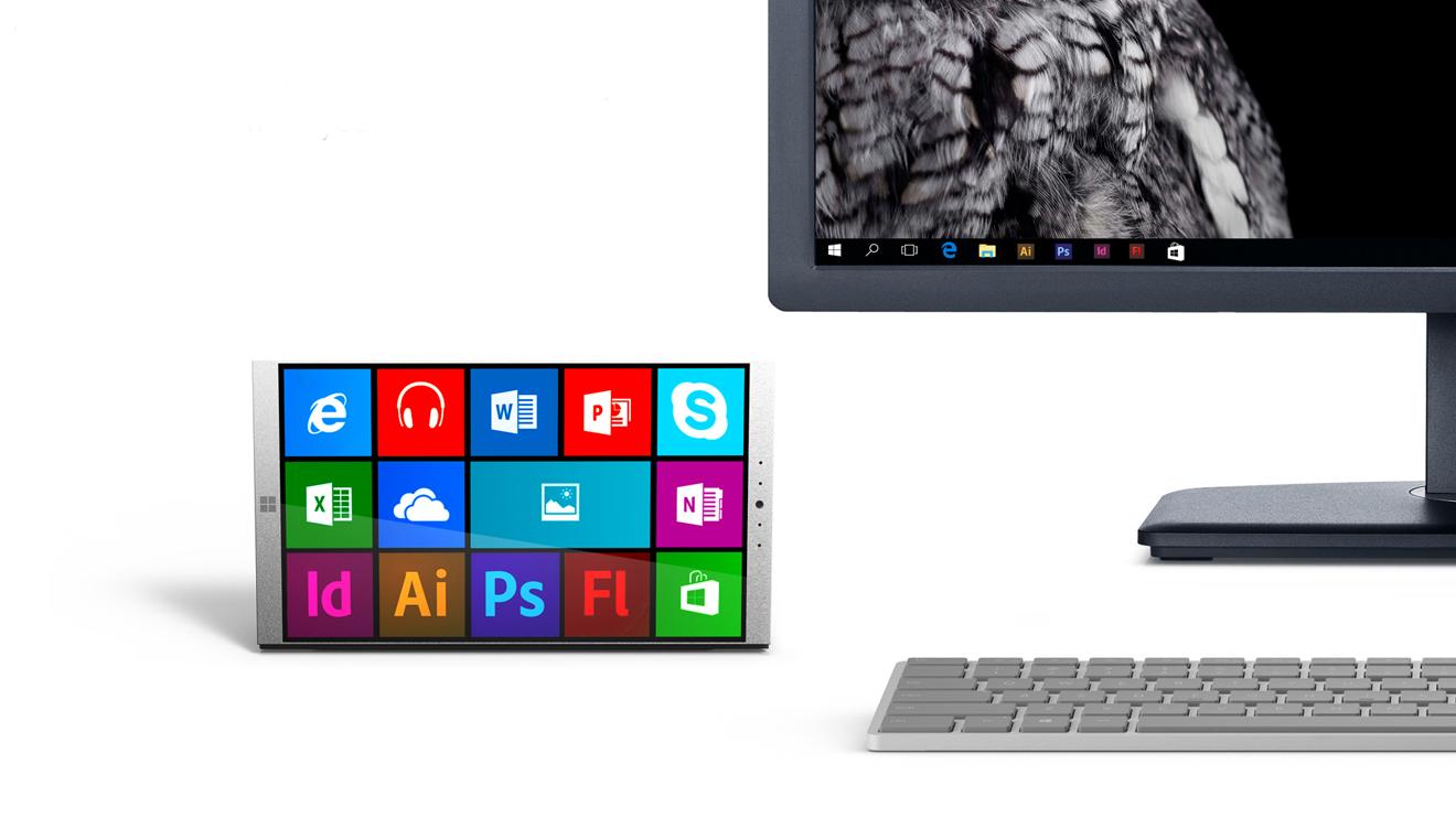 Tasarımcılara özel Microsoft Surface Phone konsepti
