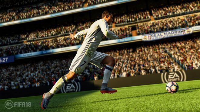 FIFA 18'den en çarpıcı oynanış videosu