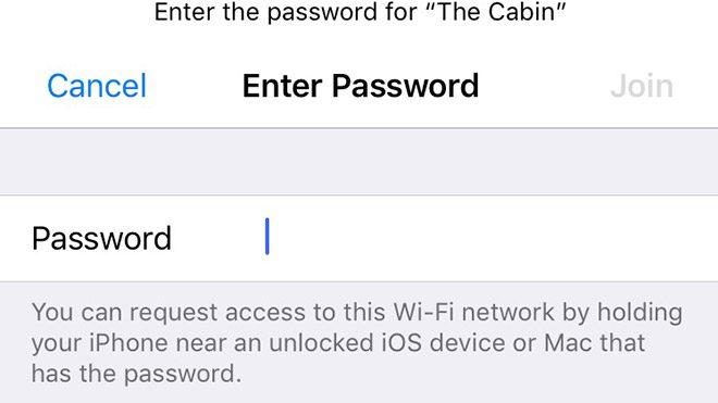 IOS 11 ile birlikte Wi-Fi şifresi istemek tarihe karışıyor