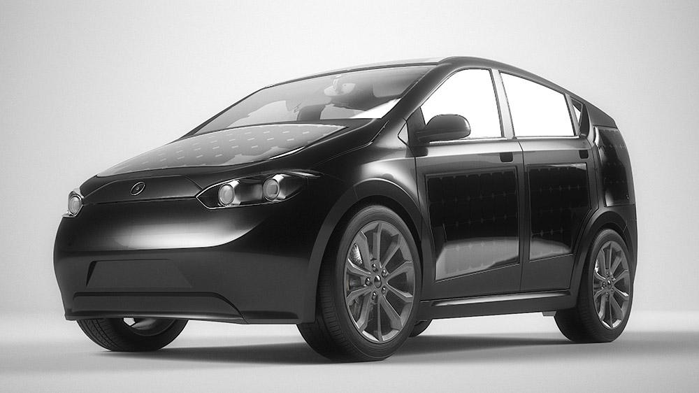 Güneş panelleriyle kendi kendini şarj edebilen, 193 kilometre menzilli elektrikli otomobil: Sono Sion