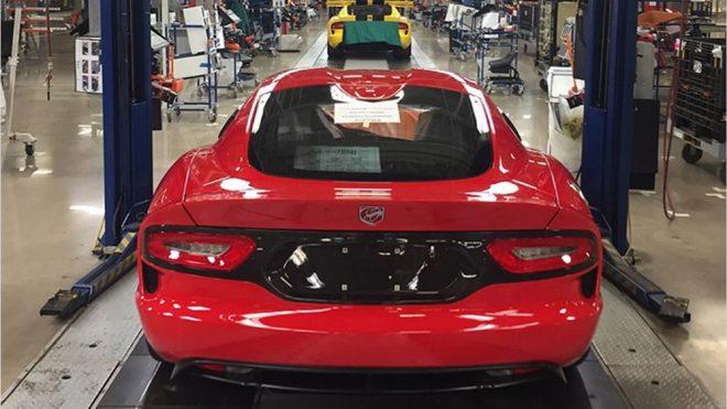 Bir efsane tarih oldu; İşte üretim bandından inen son Dodge Viper