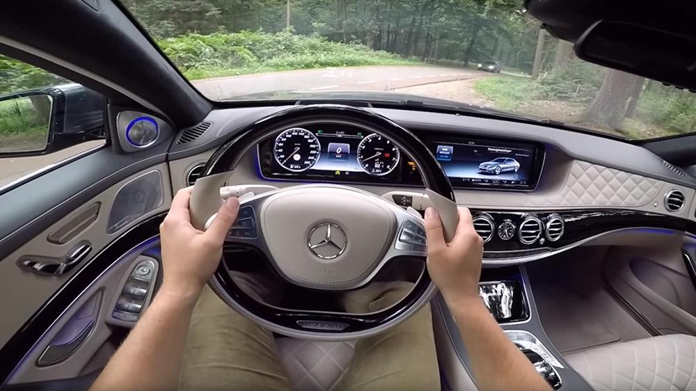 Mercedes-Maybach S600 ile on dört dakikalık eşsiz bir ...