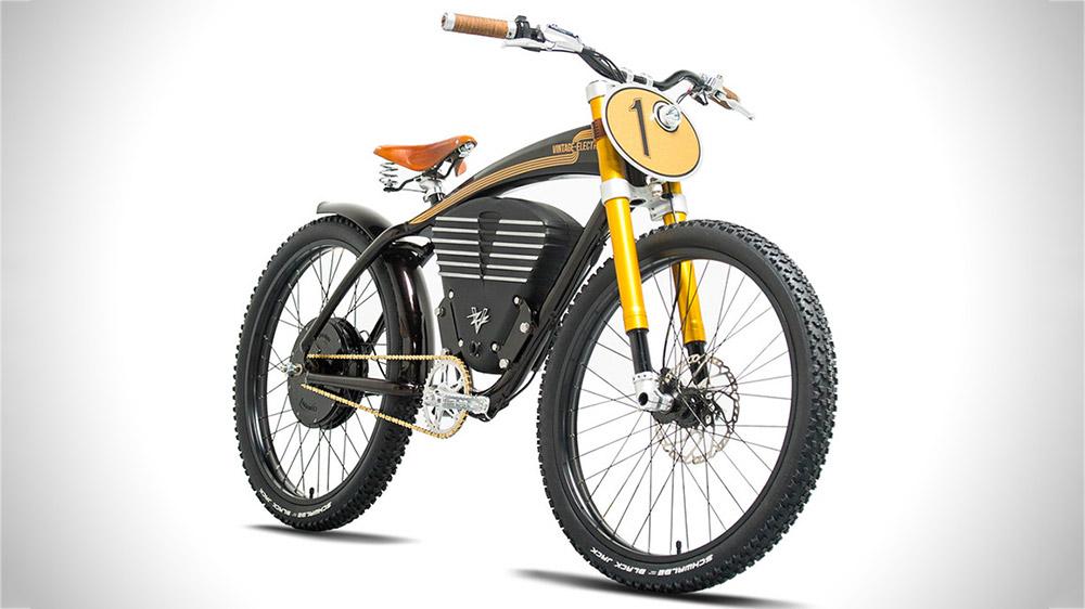 Retro tasarım diliyle harmanlanan dünyanın en hızlı elektrikli bisikleti: Vintage Electric Scrambler