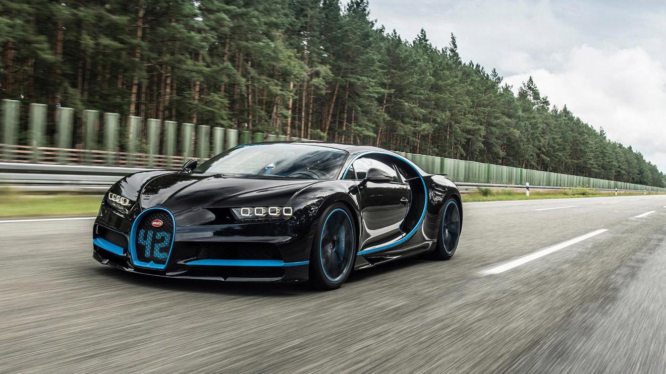 Bugatti Chiron'un 0-400-0'lık aralığı sadece 42 saniyede tamamladığı nefes kesen dünya rekoru