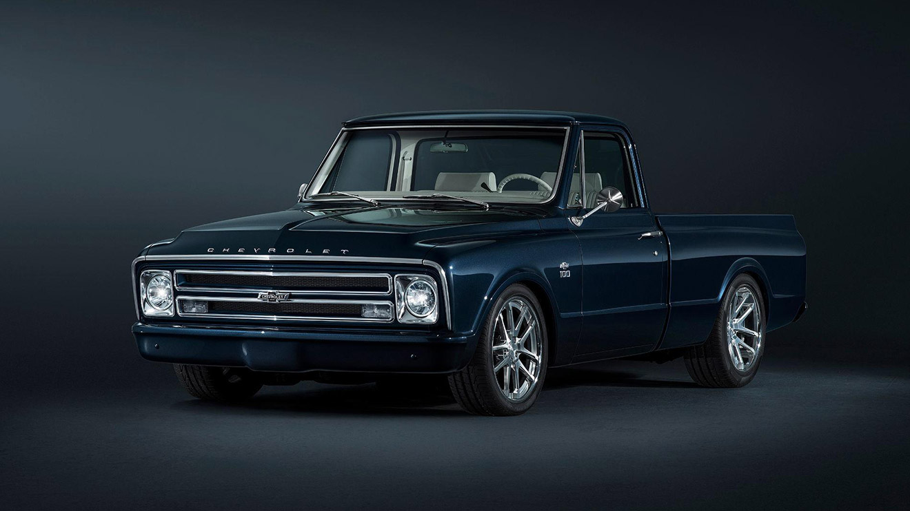Gaz E Ca E C E F C also Chevroletc Sema furthermore  besides Chevrolet C Centennial Sema Truck Cool as well . on 1968 chevy c10 pick up