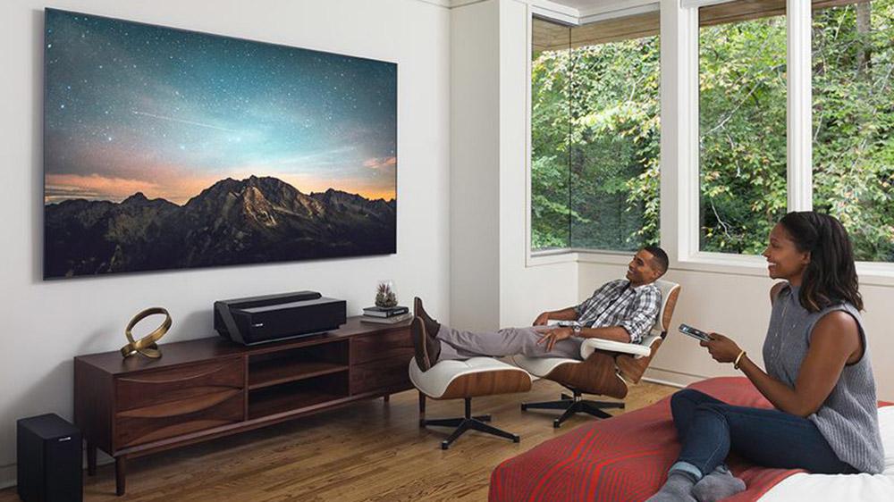 Hisense 100L8D 4K lazer televizyon HDR10