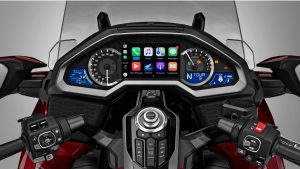 Apple CarPlay destekli ilk motosiklet: 2018 Honda Gold Wing