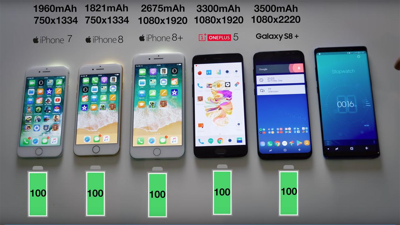 samsung s8 iphone 7 karşılaştırma
