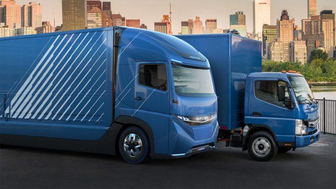 Daimler elektrikli kamyon