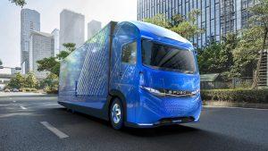 Daimler E-Fuso Vision One elektrikli kamyon