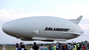 Dünyanın en büyük hava aracı Airlander 10