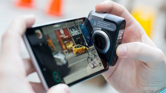 iPhone'a DSLR kalitesi getiren kamera aksesuarı 'DxO One' artık Android destekli
