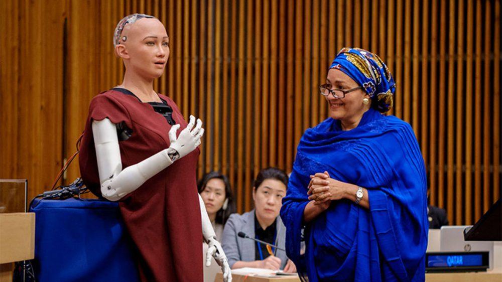 Robota vatandaşlık verildi
