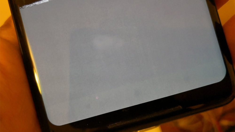 Pixel 2 XL ekran yanma