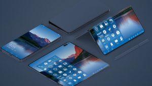 Huawei katlanabilir ekranlı telefon