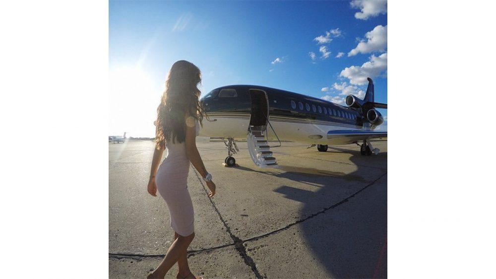 ınstagram için özel jet