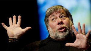 Apple iPhone X Steve Wozniak