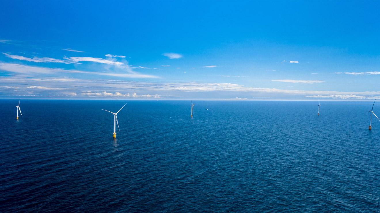 Dünyanın ilk yüzer rüzgar çiftliği