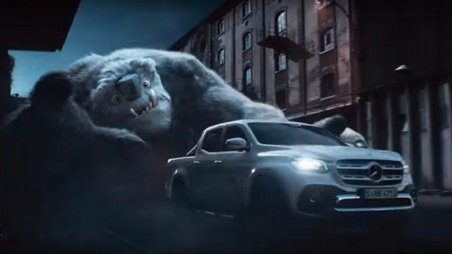 Tartışma yaratan Mercedes X-Class'tan fantastik reklam filmi [Video]